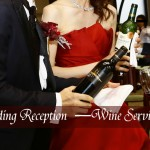 キャンドルの代わりにワインサービス!個性的な披露宴の演出実例