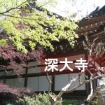 東京都調布で「深大寺」観光!深大寺蕎麦も食べてきました