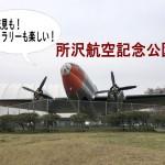 ギャラリー見学もできる!「所沢航空記念公園」でお花見散歩