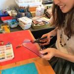 有馬温泉旅行*工房「ローズグラスギャラリー」で手作り体験!