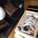 赤ちゃんの布団セット*フローリングもOK!移動もできる優れ物