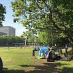 大田区公園めぐり!幼児向け遊具や広場を求めて1歳児とおでかけ