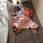 ベビーベッド卒業後寝かせる場所は?ユニット畳を設置して解決!