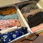 子供服の収納を見直し!自分で選べて片づけられるチェスト導入!