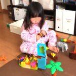 3歳のおうち遊び*ブロック・パズル・塗り絵・工作で集中力アップ!