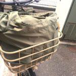 使いやすいエコバッグmotteru購入!自転車カゴすっぽりで便利